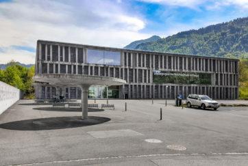 Pädagogische Hochschule - Ansicht Nord - Meletta Strebel Zangger - 2006 - Goldau