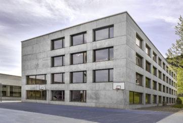 Oberstufenschulanlage Weid - Ansicht Nordwest - Meletta Strebel Zangger - 2005 - Pfäffikon