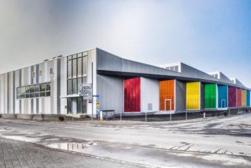 Lager- und Gewerbehalle - Ansicht Nord - Burch Partner Architekten AG - 2016 - Kägiswil