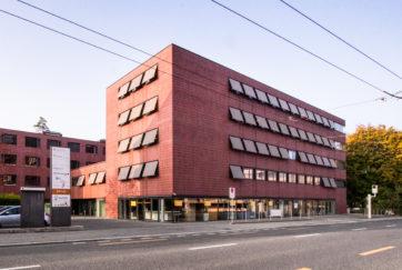 Wohn- und Geschäftshaus - Ansicht Süd - Schärli Architekten AG - 2004 - Luzern