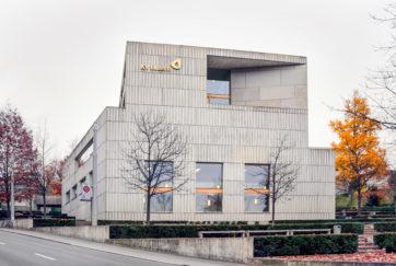 Dreilindenschulhaus - Ansicht West - Lussi Halter - 2005 - Luzern