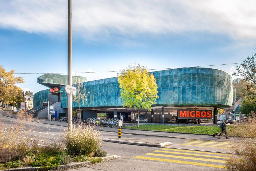 Migros Würzenbach - Ansicht Nordwest - TGS Architekten - 2006 - Luzern