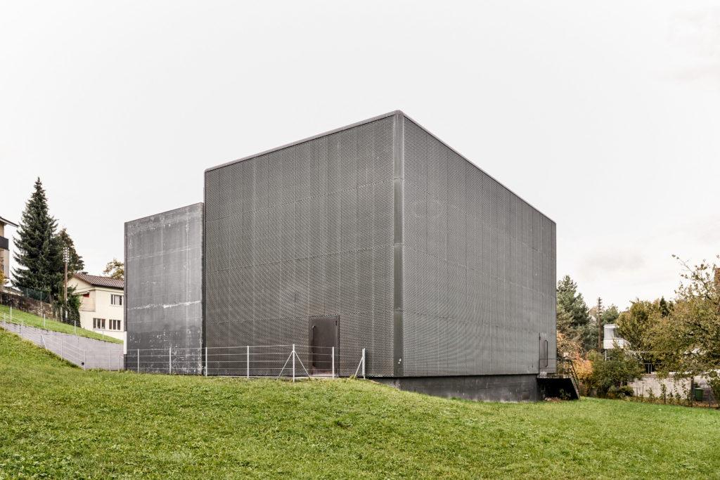 Unterwerk Blattenmoos - Ansicht Südost - Schärli Architekten AG - 2001 - Littau