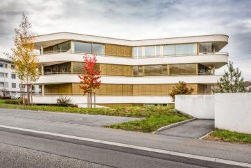Wohnüberbauung Rotmatt - Ansicht West - Marques AG - 2015 - Meggen